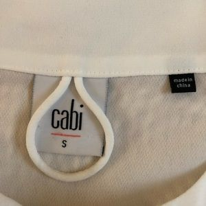 cabi Tops - Cabi Collarless Long Sleeve Button Down Blouse